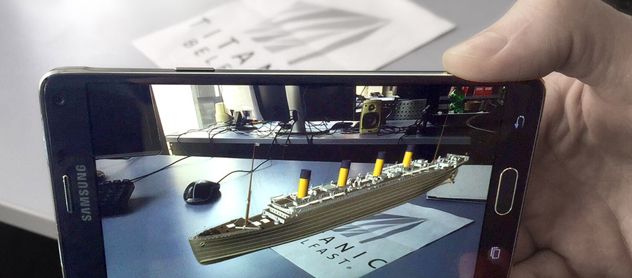 Augmented Reality - Titanic Belfast