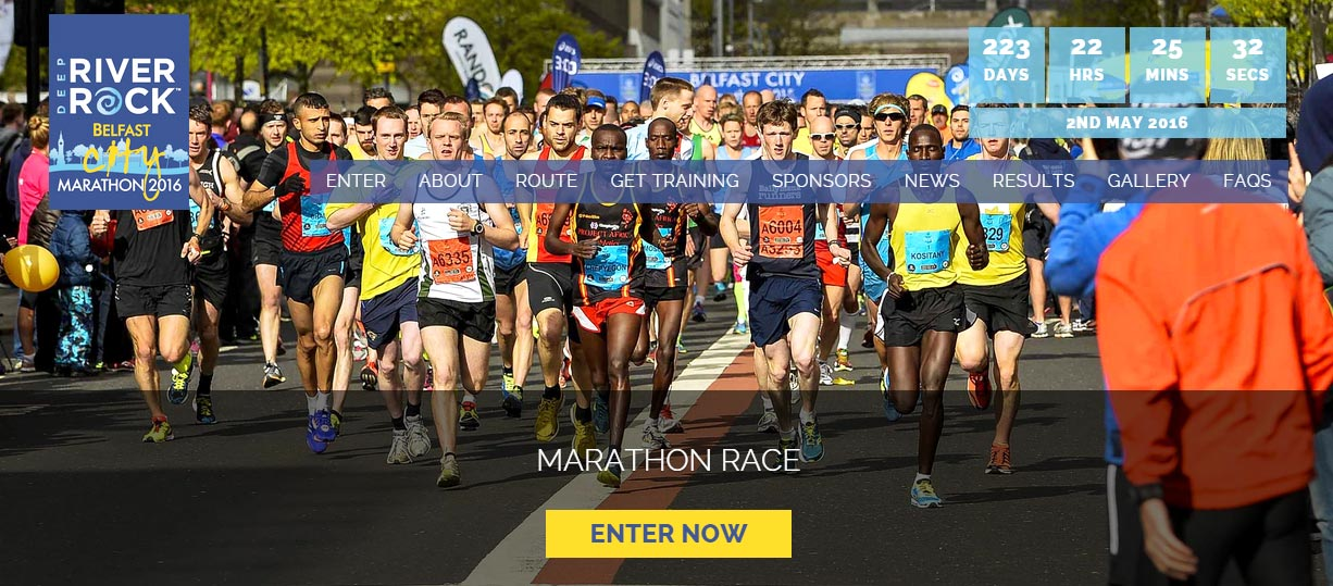 New website for Belfast City Marathon