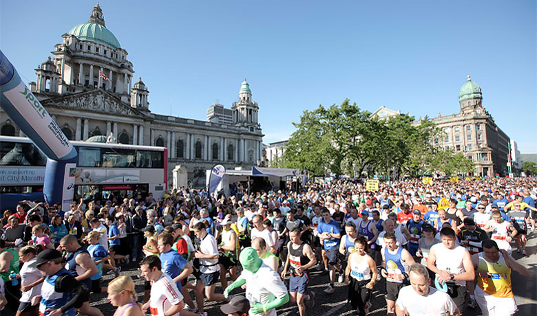 Belfast City Marathon Success