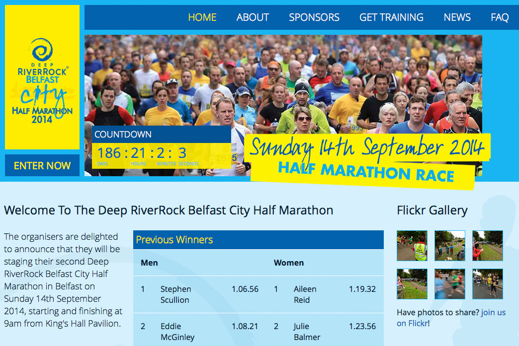 Belfast City Half Marathon Launch