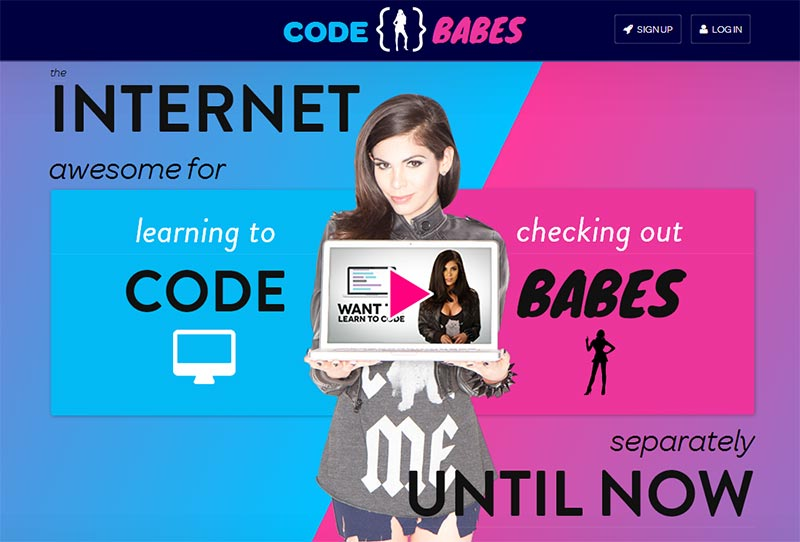 Code and Babes - together at last