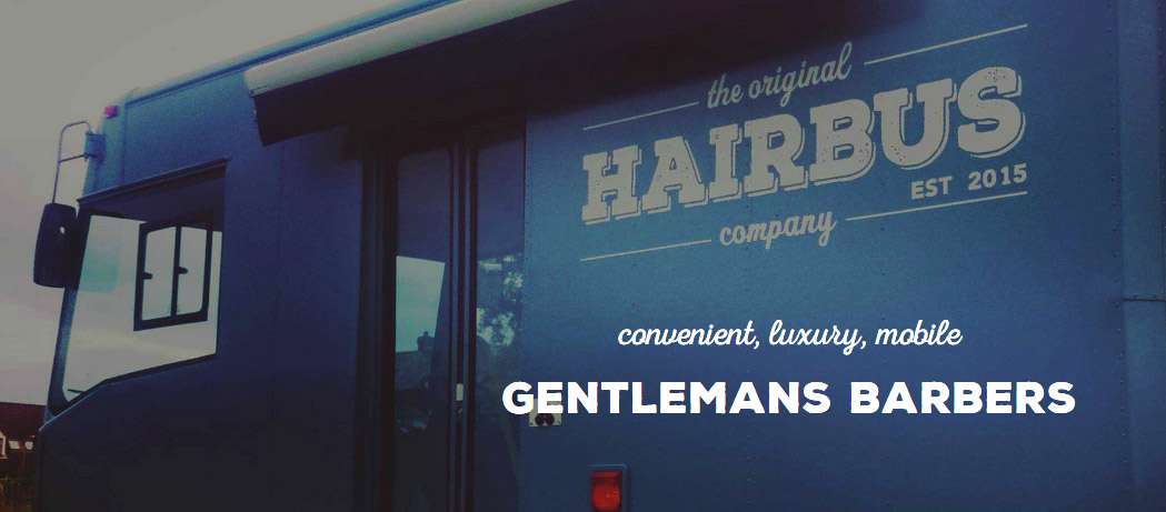 New website for The Hairbus mobile barbers