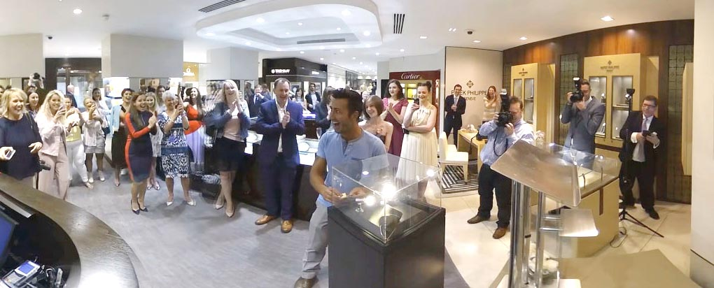 Jewellers relaunches flagship store with 360 video