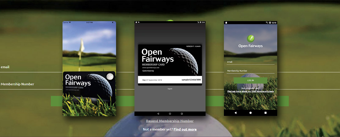 Open Fairways launches mobile app